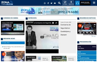Promomedios website ZONA3
