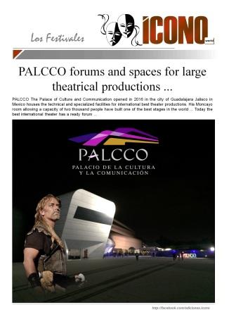 07 24 2016 LOS FOROS PALCCO2