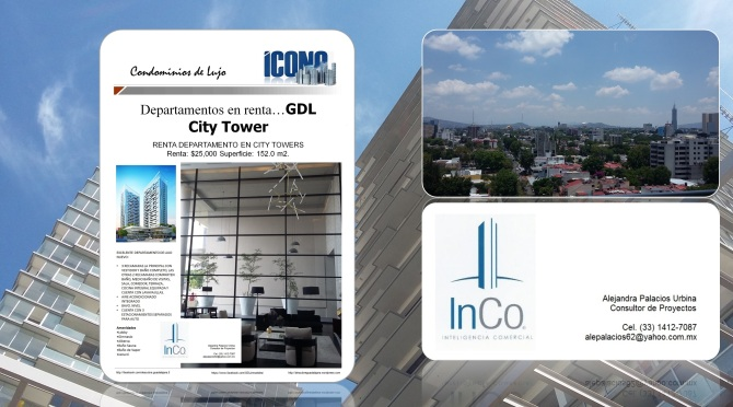 08 20 2016 GDL Inmuebles City Towers renta COLLAGE