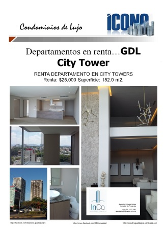 08 20 2016 GDL Inmuebles City Towers renta2